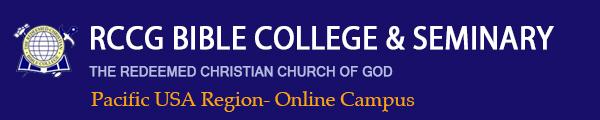 RCCGNA Bible School